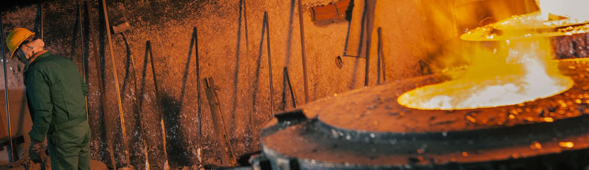 Dettaglio zona forni - Fometal - Fonderia alluminio, leghe madri e affini